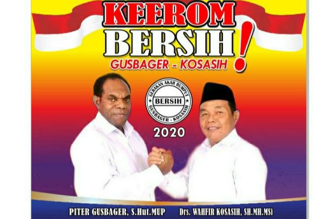 Gusbager Kosasih Resmi Maju Pilkada Kabupaten Keerom Beritapapua Co Berita Papua Terkini